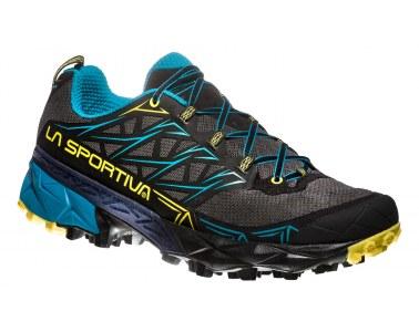 Zapatilla de mountain running La Sportiva Akyra Carbon / Tropic Blue