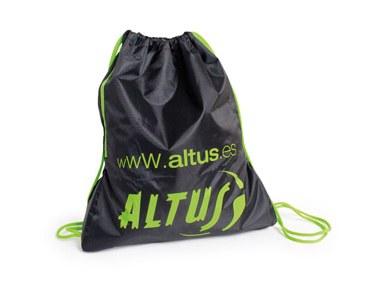 Bolsa Sport Altus Multifuncional Negro/Lima