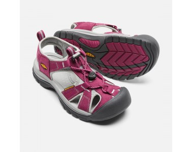 Sandalias Keen Venice H2 Mujer BEET RED/NEUTRAL GRAY