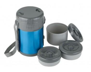 Fiambrera con contenedores Ferrino 1,5L azul