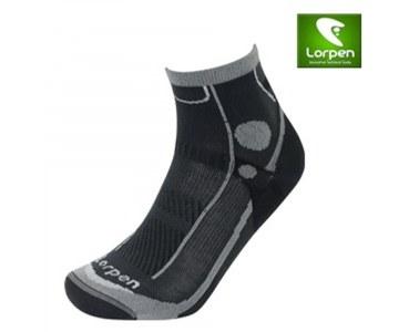 Calcetines Lorpen T3 Trail Running Ultra Light Black Talla L