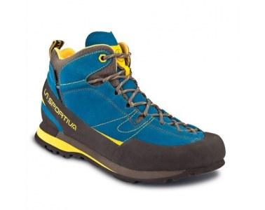 Botas de montaña La Sportiva Boulder X MID GTX Blue / Yellow