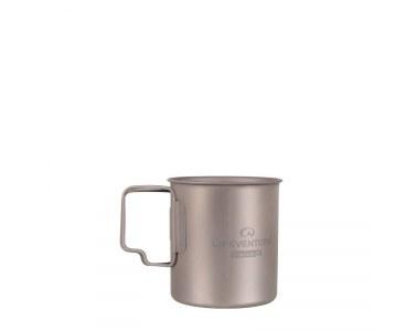 Taza LifeVenture Titanium Mug