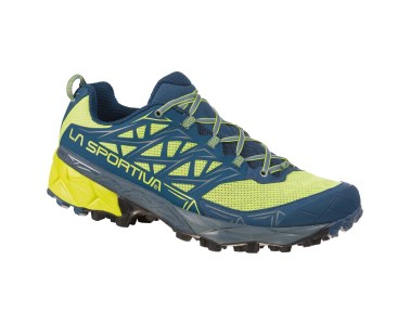 Zapatilla de mountain running La Sportiva Akyra Apple Green / Opal