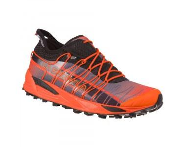 Zapatilla de Mountain Running La Sportiva Mutant Tangerine / Carbon