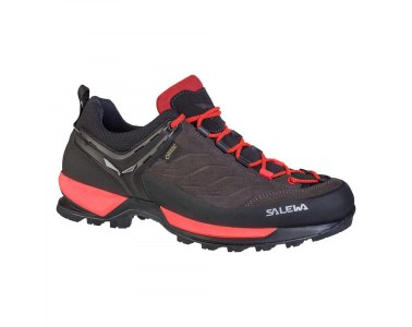 Zapatillas de mujer Salewa WS Mountain Trainer GTX Black out / Rose red