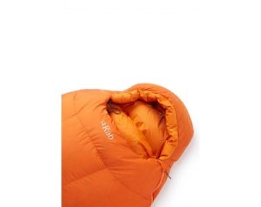 Saco de dormir Rab Andes 1000 Naranja Cremallera Izquierda