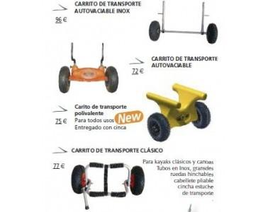 Carrito de transporte kayaks RTM Rotomod polivalente