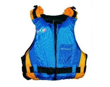 Chaleco Kayak RTM Rotomod Euroclub color naranja azul