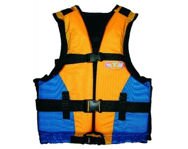 Chaleco Kayaks RTM Rotomod Baltic color naranja azul