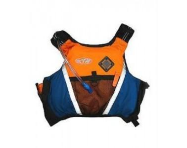 Chaleco Kayak RTM Rotomod Adventure color naranja azul