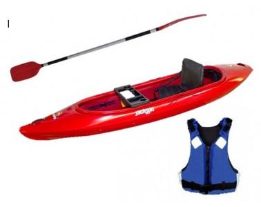 Kayak Jackson Daytripper 10 Elite PACK con Pala Simetrica y Chaleco