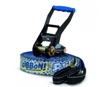Cinta Slackline Gibbon FUN LINE x13 con Protector Árbol