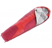 Saco dormir sintético Orbit 0C Regular fire cranberry