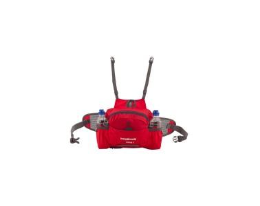Accesorio Portabidones Compatible con Mochila TX 20 Trangoworld TX Crab Rojo-Antracita