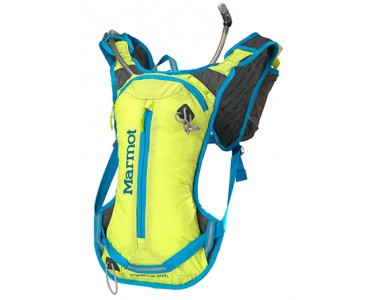 Mochila Marmot Kompressor Speed Green lime/Atomic blue
