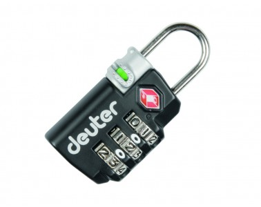 Candado de seguridad Deuter TSA Lock black