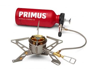 Hornillo Primus Omnifuel II con botella fuel 06L