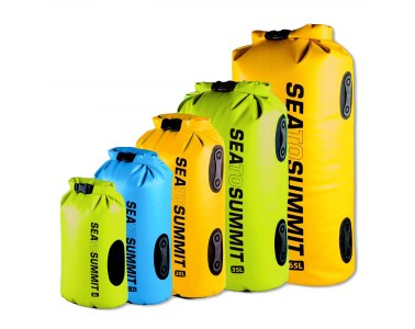 Mochila  Estanca Sea To Summit Hydraulic Dry Bag 65L amarillo